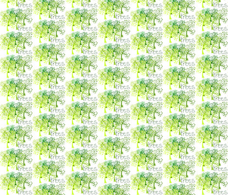trees fabric by krs_expressions on Spoonflower - custom fabric