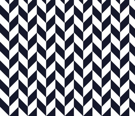 Navy-white_herringbone