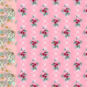 Rosanna floral stripes