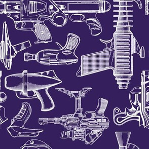 Ray Gun Revival (Dark Purple) (8x8)