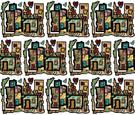 Rheartbeat_city_on_white_spoonflower_hearts_added_shop_preview