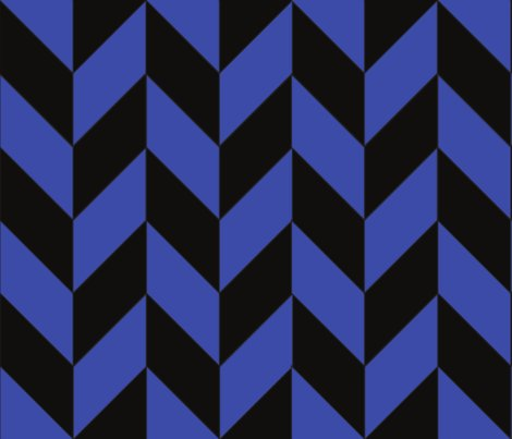 Blue-black_herringbone