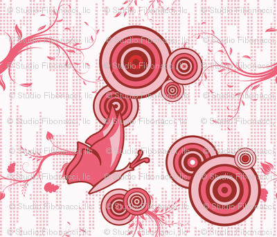 Swirly Butterfly (Red)