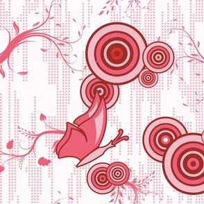 Swirly Butterfly (Red)