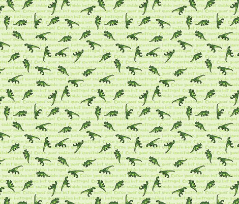 Curse Your Sudden But Inevitable Betrayal (small) fabric by studiofibonacci on Spoonflower - custom fabric