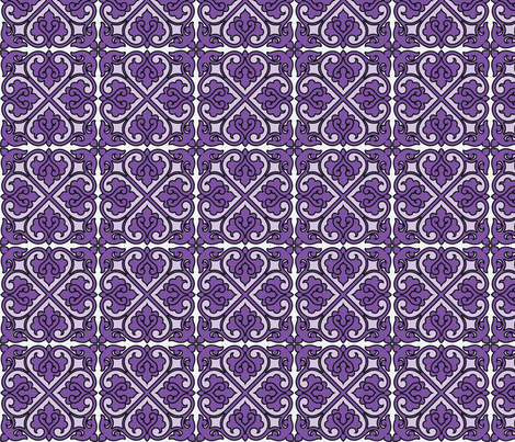 Victorian Ornament fabric by studiofibonacci on Spoonflower - custom fabric