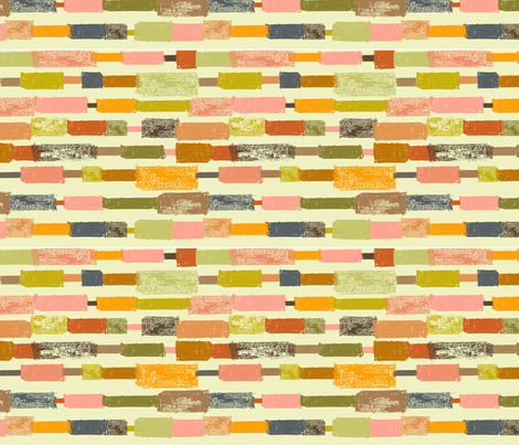Fall Stripe  fabric by redfish on Spoonflower - custom fabric