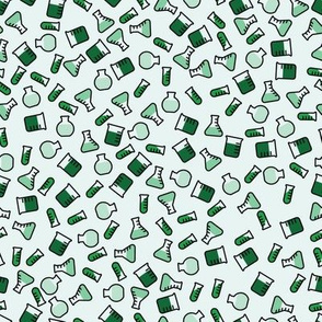 Ditsy Chemistry - Green