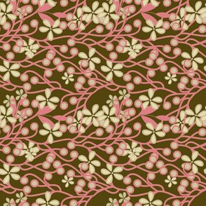 Wildwood in brown and pink