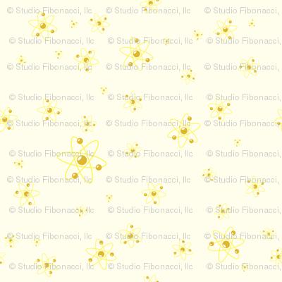 Ditsy Atom - Yellow