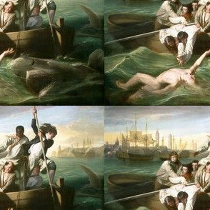 Watson and the Shark - J.S. Copley  (1778)