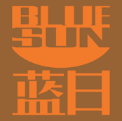 Blue Sun (brown & orange)