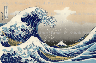 Great Wave off Kanagawa (54in)