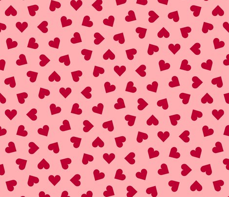 Rrr1_inch_scattered_lipstick_red_hearts_on_pink_shop_preview