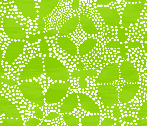 Geo Dot Batik, green fabric by alexandrabecketdesigns on Spoonflower - custom fabric