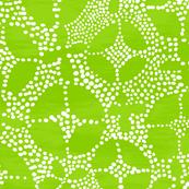 Geo Dot Batik, green