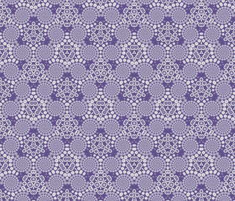Purple Spirals © Gingezel™ 2013