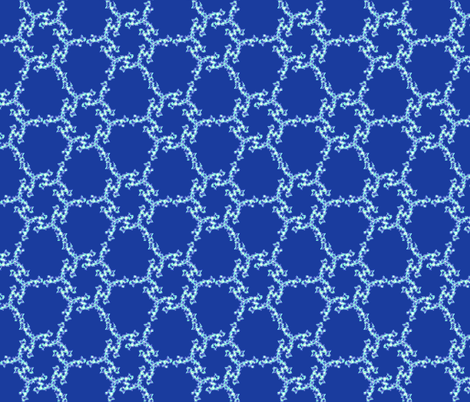 Braided Hex fabric by cs_nyc on Spoonflower - custom fabric