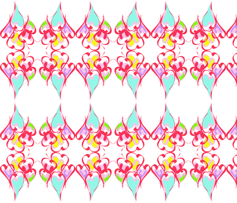 find the valentine! fabric by bettybirdeaux on Spoonflower - custom fabric