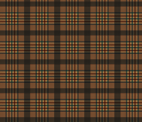 Doctor Who Tom Baker classic Vest Pattern fabric by warmcanofcoke on Spoonflower - custom fabric