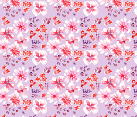 améliefond mauve M fabric by nadja_petremand on Spoonflower - custom fabric