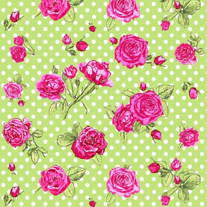 roses_on_green_dots