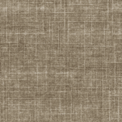 Driftwood - stonewashed woven threads of charcoal brown & pale grey