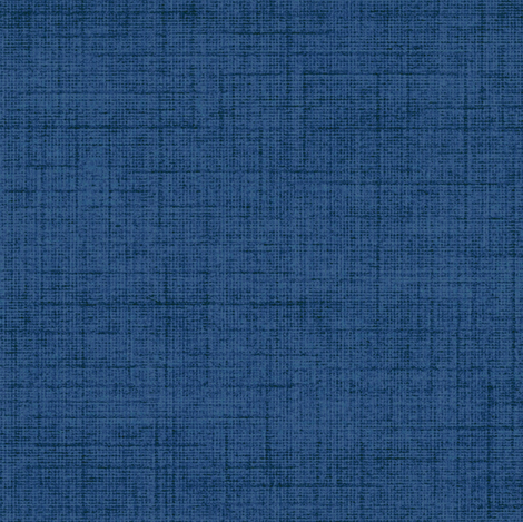 Linen - midnight blue, stonewashed woven threads fabric by materialsgirl on Spoonflower - custom fabric