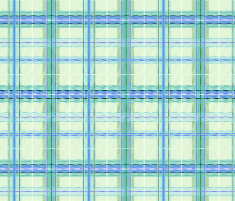 plaid_ice fabric by glimmericks on Spoonflower - custom fabric