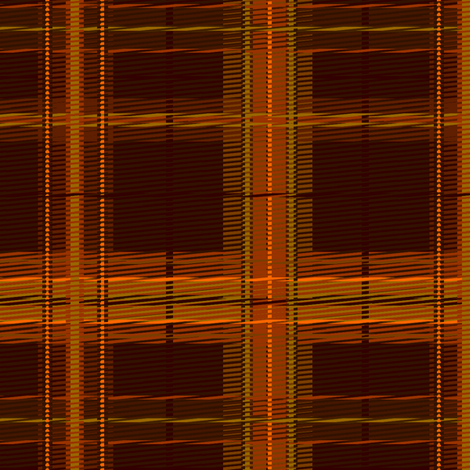 plaid_autumn fabric by glimmericks on Spoonflower - custom fabric