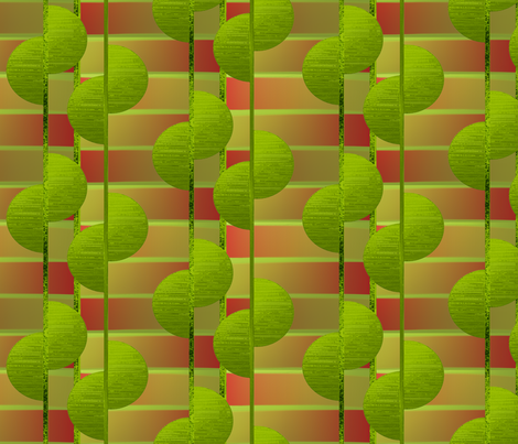 Lime tree fabric by su_g on Spoonflower - custom fabric