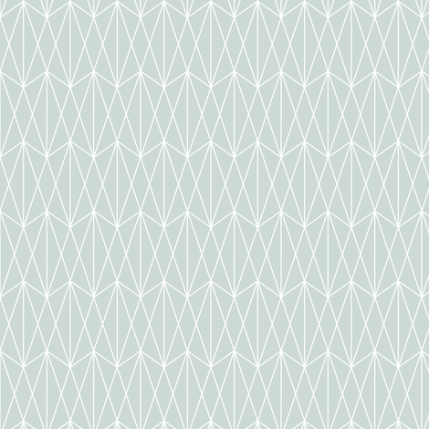 Diamond Grid - Ice Blue (small) fabric by kimsa on Spoonflower - custom fabric