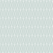 Diamond Grid - Ice Blue (small)