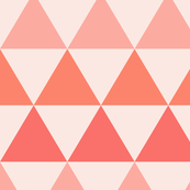Peach Triangles