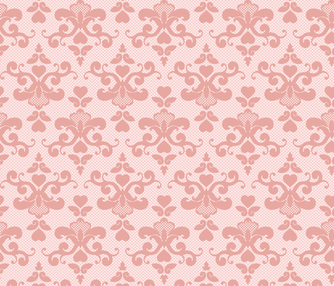 Valentine Lace fabric by kimsa on Spoonflower - custom fabric