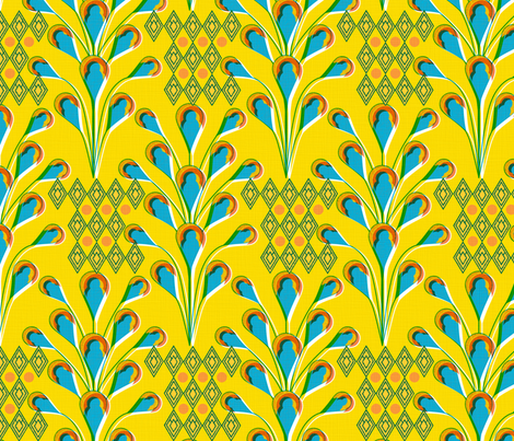 africanb5 fabric by sary on Spoonflower - custom fabric