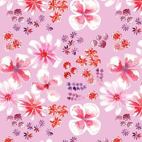 amélie fond rose L