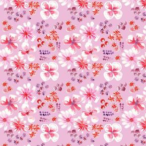 amélie fond rose M