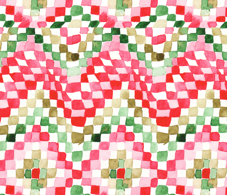 antoinette damier L fabric by nadja_petremand on Spoonflower - custom fabric