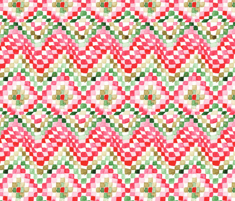 antoinette damier M fabric by nadja_petremand on Spoonflower - custom fabric