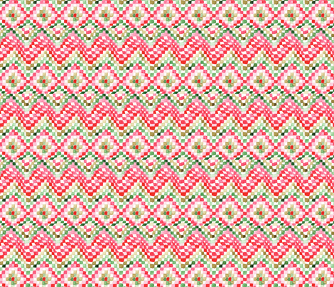 antoinette damier S fabric by nadja_petremand on Spoonflower - custom fabric