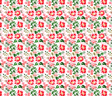 set antoinette 1 fabric by nadja_petremand on Spoonflower - custom fabric