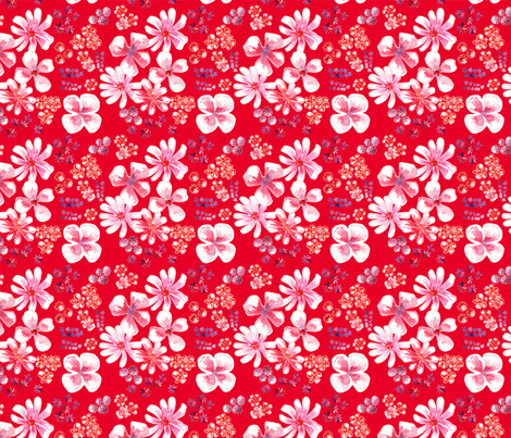 set antoinette 4 fabric by nadja_petremand on Spoonflower - custom fabric