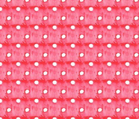 antoinette pois rouge_M fabric by nadja_petremand on Spoonflower - custom fabric