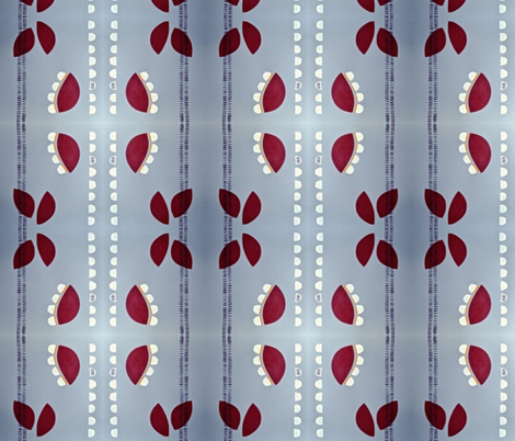 Strawberry Patch fabric by stelladottie on Spoonflower - custom fabric