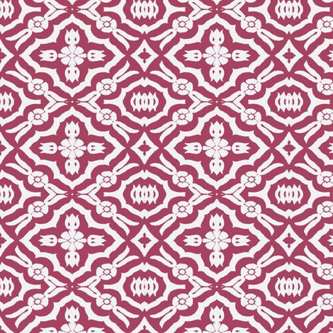 Keep it Simple, Rose fabric by susaninparis on Spoonflower - custom fabric