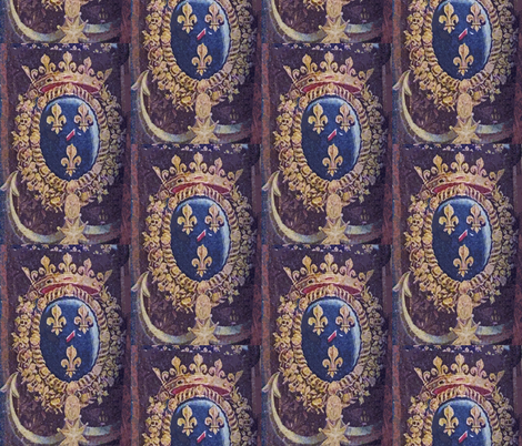 Imperial Crest fabric by susaninparis on Spoonflower - custom fabric