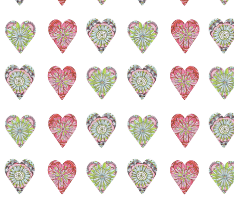 myloveisagarden fabric by artthatmoves on Spoonflower - custom fabric
