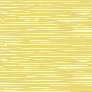 Uneven stripe on yellow