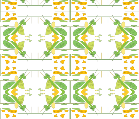 flutterbutter fabric by cilade on Spoonflower - custom fabric